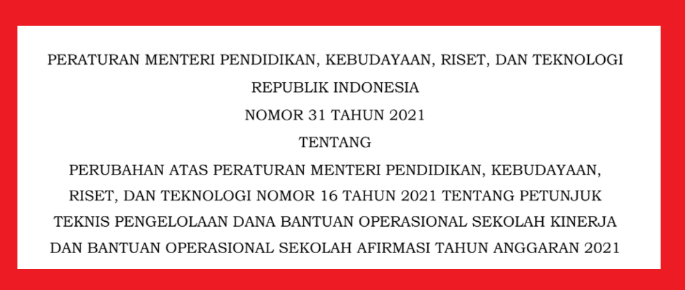 gambar permendikbud nomor 31 tahun 2021
