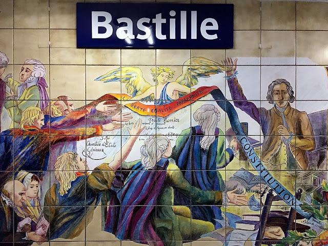 As estações de metrô mais bonitas e diferentes de Paris - Bastille