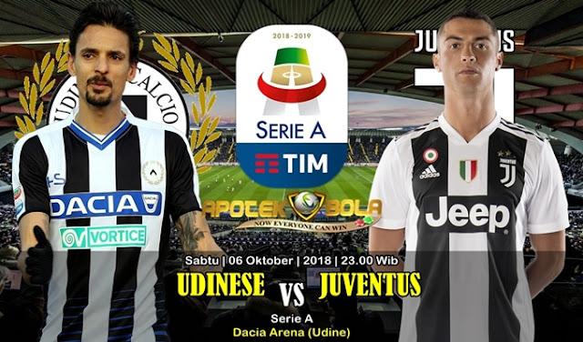 Prediksi Udinese Vs Juventus 6 Oktober 2018