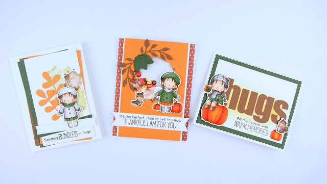 Heather's Hobbie Haven - Fall Friends Card Kit