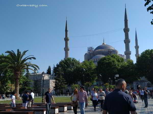 Traveling Istanbul Turki