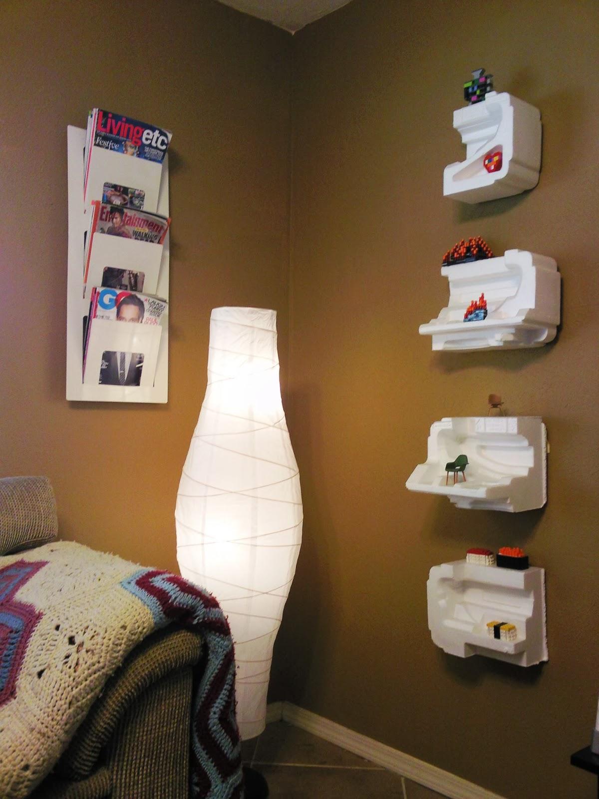 Diy Fancy Nails: DIY Fancy Styrofoam Shelves