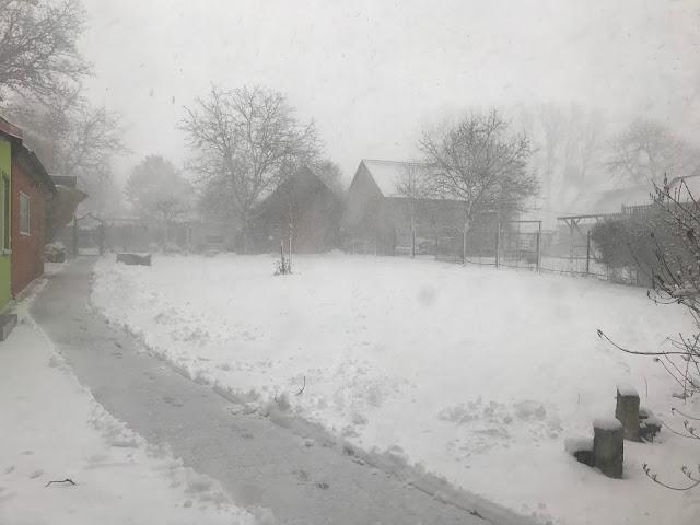 alle paar Stunden ein Schneesturm, das ist Janaur (c) by Joachim Wenk