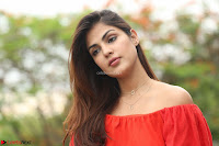 Rhea Chakraborty in Red Crop Top and Denim Shorts Spicy Pics ~  Exclusive 297.JPG