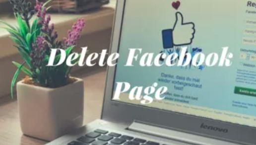 Cancel Facebook Page