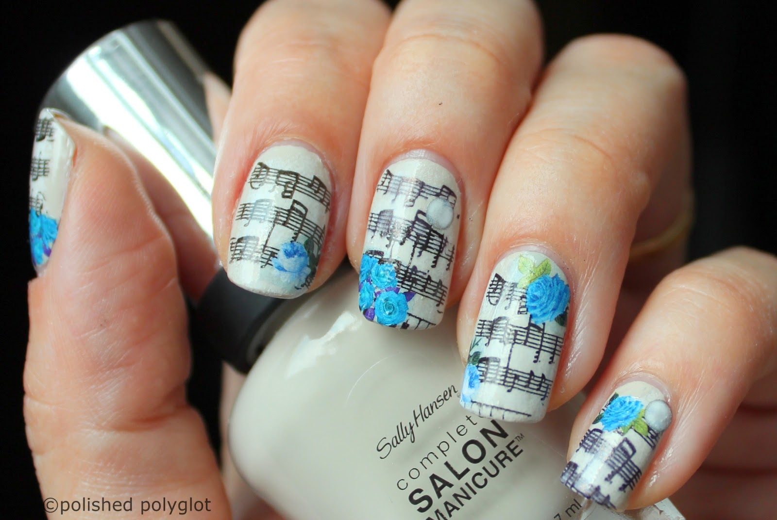 Nail Art Ideas » Nail Art With Music Notes - Pictures of Nail Art ...