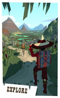 Adalah sebuah game petualangan dengan gameplay Endless Runner The Trail apk + obb
