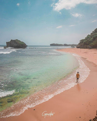 pantai ngandong gunung kidul