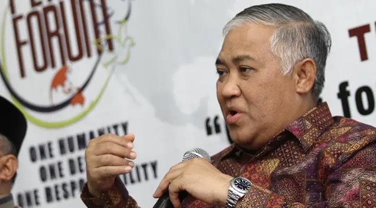 Din Syamsuddin Ajak Masyarakat Salurkan Wakaf Ke Lembaga Islam Saja