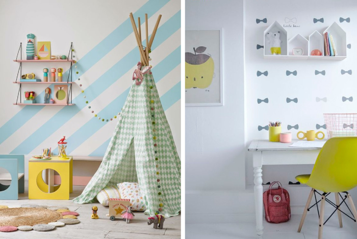 Conosciuto Camerette per bambini: colorate e super creative | Blog di  UJ04