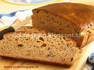 Špaldový kváskový chlieb s ovocím - recepty