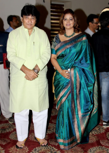 Richa Aggarwal with Harun Usuf-