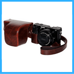 Sony a6000 Leather Hard case