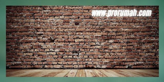 Interior  Rumah  Khas Sunda  MOdern - gunakan tembok batu bata