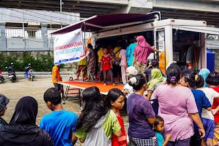 Korban Banjir di Jakarta Terima Bantuan dari Solopeduli