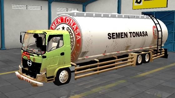 Mod Truck Hino 500 Tangki Semen Curah Sulawesi