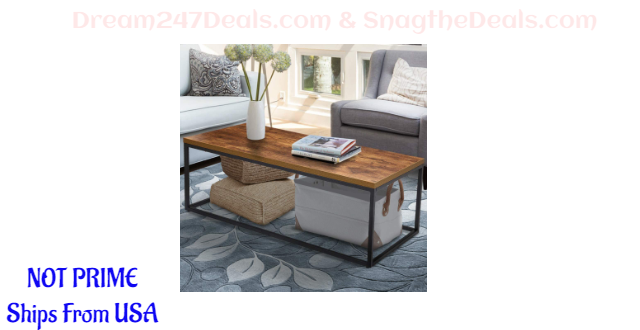 35% OFF KingSo Industrial Coffee Table