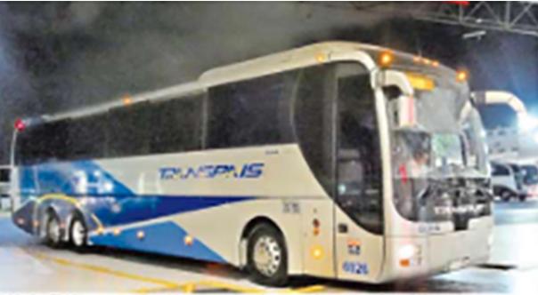 """""""A ver tú, bájate. Tú también estás bueno"""" Grupo de sicarios bajan a 6 hombres de autobús de pasajeros Transpais para """"reclutarlos"""""""