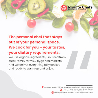 """Jake Adebayo's SkillPatron Launches an """"on-demand' Personal & Private Chef For Hire Service in Africa 5"""