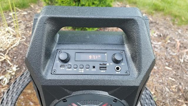 wireless tailgate speaker
