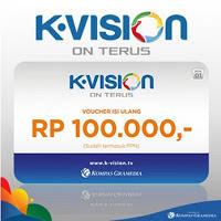 Voucher TV K-Vision 100.000