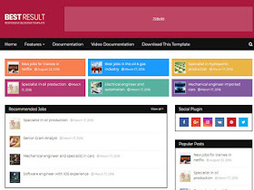 Top Result - Who is Number One Best Blogger Template - Responsive Blogger Template
