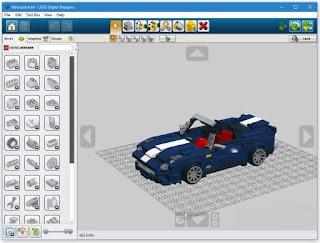 برنامج, خفيف, لتصميم, وإنشاء, تصميمات, ليغو, ثلاثية, الأبعاد, LEGO ,Digital ,Designer
