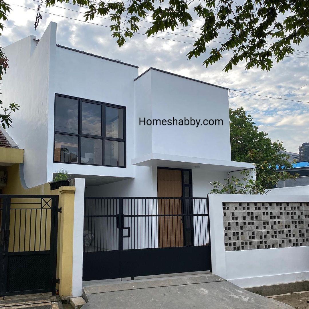 6 Desain Pagar Rumah Mewah Minimalis Modern 2021 Homeshabby Com Design Home Plans Home Decorating And Interior Design