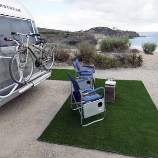 Greatamats artiifical grass mats for campers and RV