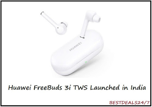 Huawei FreeBuds 3i TWS launched in India