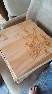 Kotak Kayu Laser