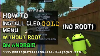 Install Cleo Gold And Apply Cheat In GTA San Andreas In Android Without Root