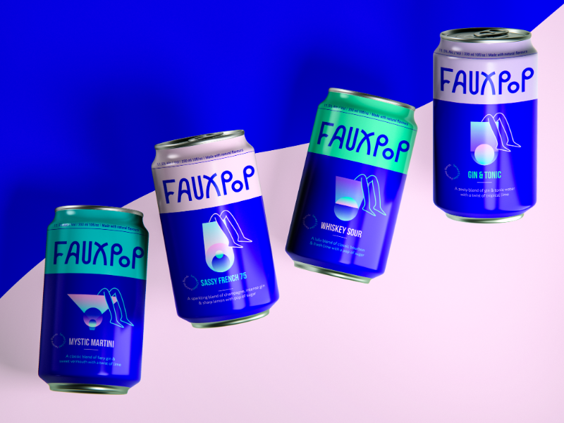 Fauxpop – Your Bartender in a can