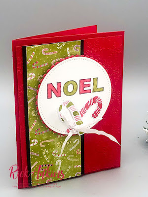 Learn to make a quick and easy Noel Card from my Weekly Facebook Live this week.  Click here to learn more!