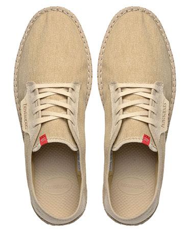 Havaianas tênis alpargatas sneaker casual areia