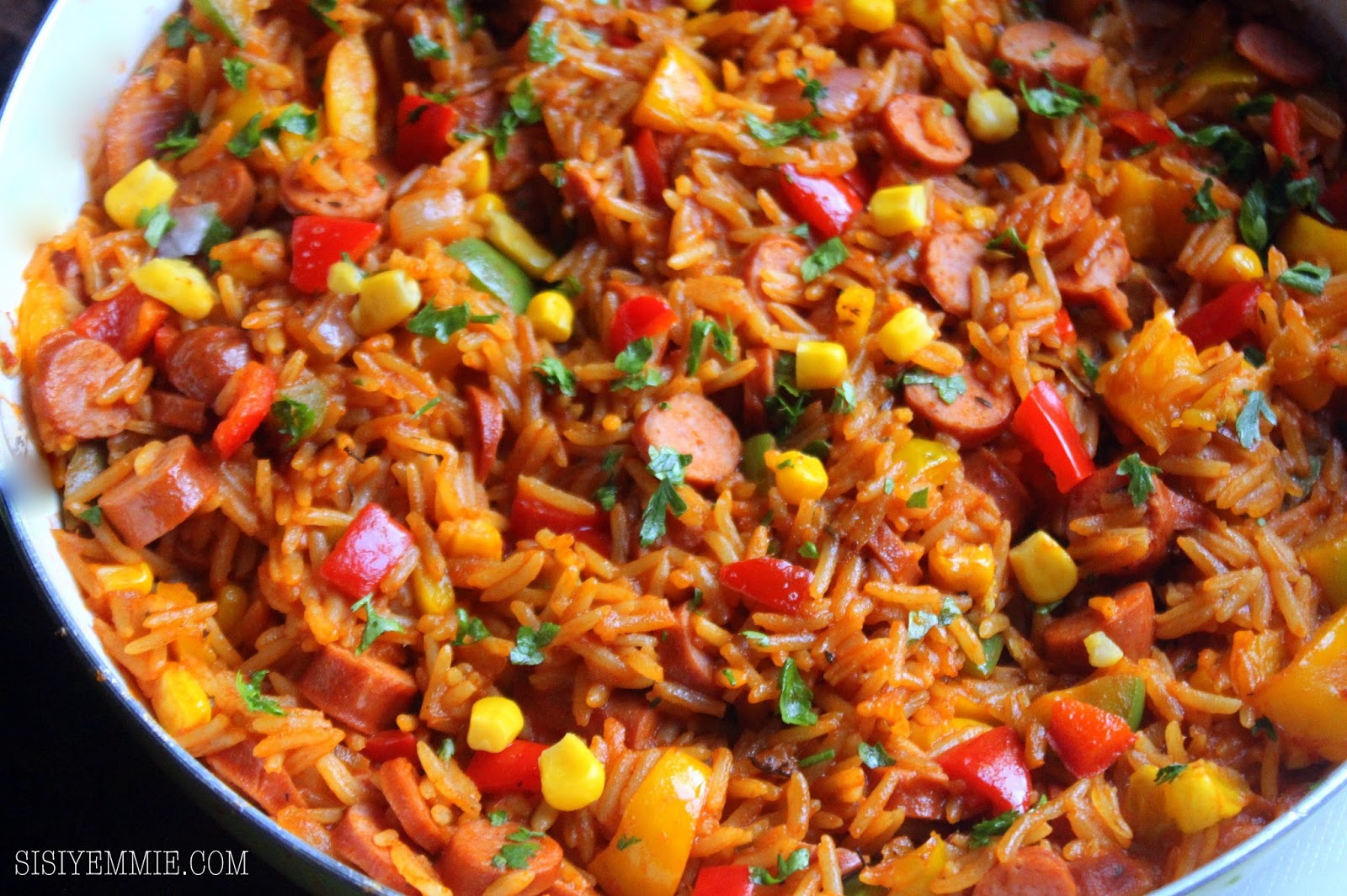 how to cook jollof rice Jollof rice /ˈdʒɒləf/ or just jollof, also called benachin (wolof: one pot), is a one -pot rice dish  the method of cooking jollof begins with first preparing the beef  or chicken by seasoning and frying it until it is well-cooked the rest of the.