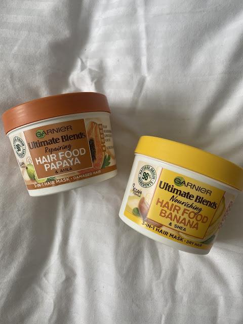 Garnier Ultimate Blends Hair Food Mask Papaya & Banana