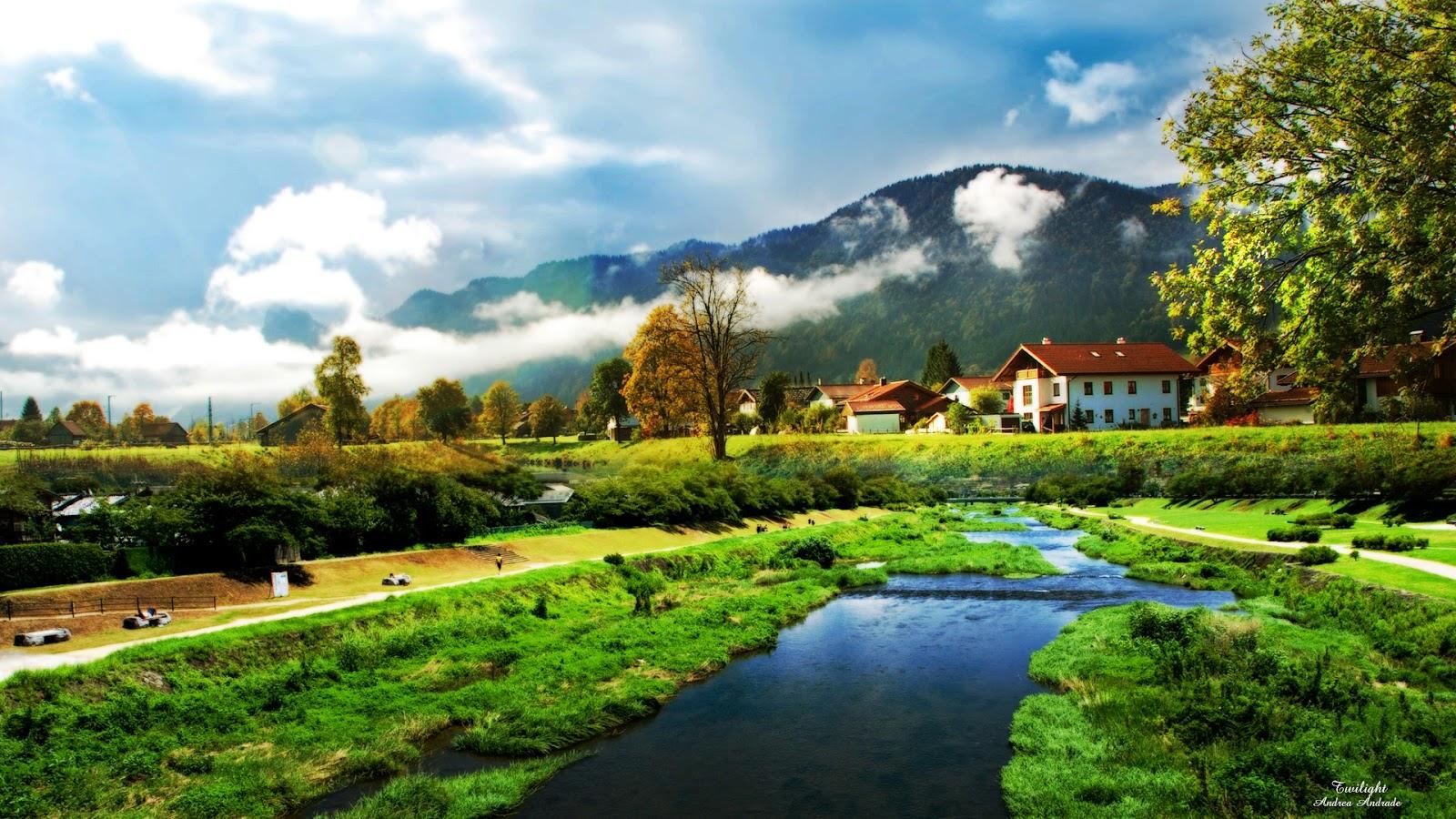 Zona rural na Itália