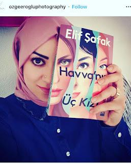 Three daughterd of eve by Elif Shafak