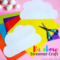Rainbow Streamer Craft