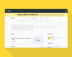 Fletro Pro v5.5 - Responsive Blogger Template