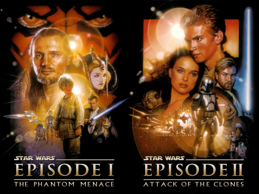 Talk Without Rhythm Episode 497 Star Wars Episode I The Phantom Menace 1999 And Star Wars Episode Ii Attack Of The Clones 2002