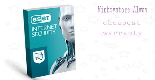 ESET INTERNET SECURITY KEY 1 DEVICE 18 Months