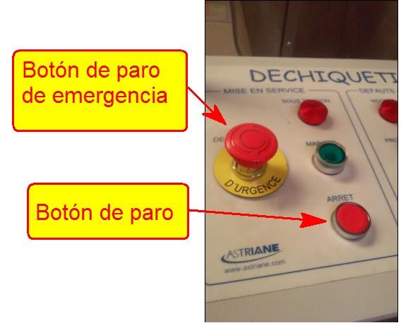 boton de paro de emergencia