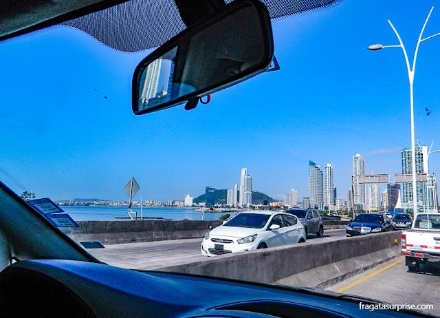 Corredor Sur, o caminho mais rápido entre o Aeroporto de Tocumen e o Centro da Cidade do Panamá