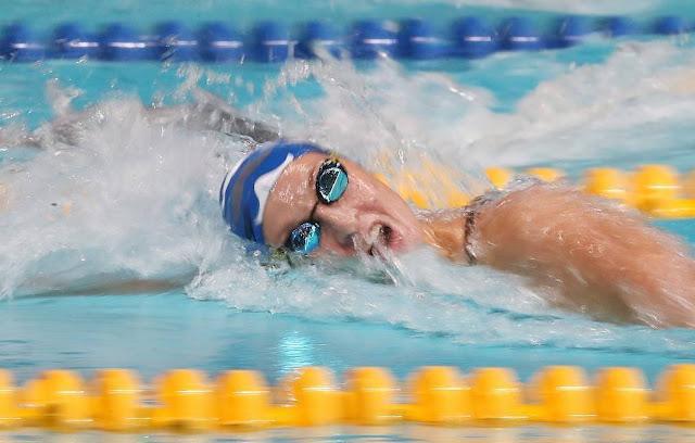 Nadadora Russa Veronika Andrusenko