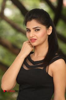 Actress Kamna Ranwat  Pictures in Black Short Dress at Selfie Raja Interview  0163