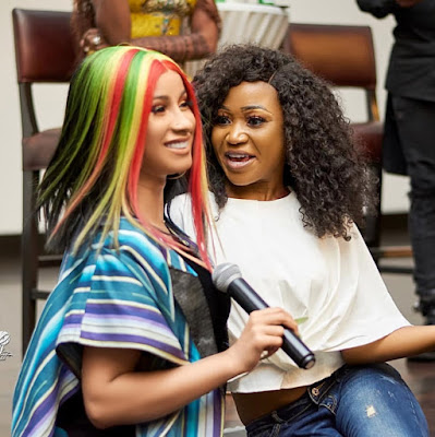 """I Never Invited Akuapem Poloo To """"Meet And Greet"""" Cardi B. - Becca (Read Full Interesting Story)"""