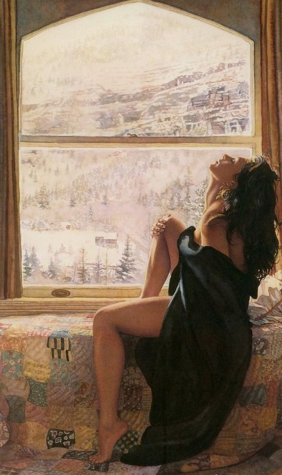 Steve Hanks Painting