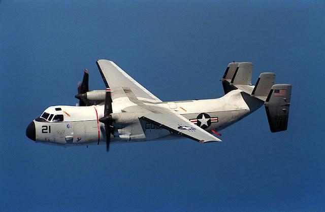 Gambar 28. Foto Pesawat Angkut Militer Grumman C-2 Greyhound